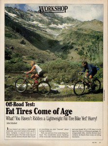 Fat Tires Come of Age
